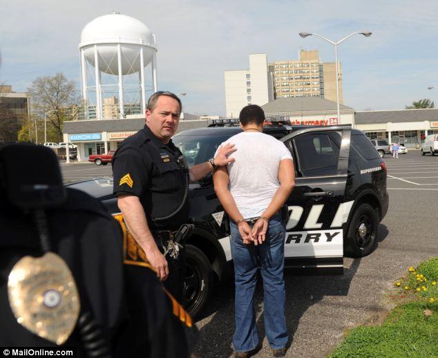 Arrested!